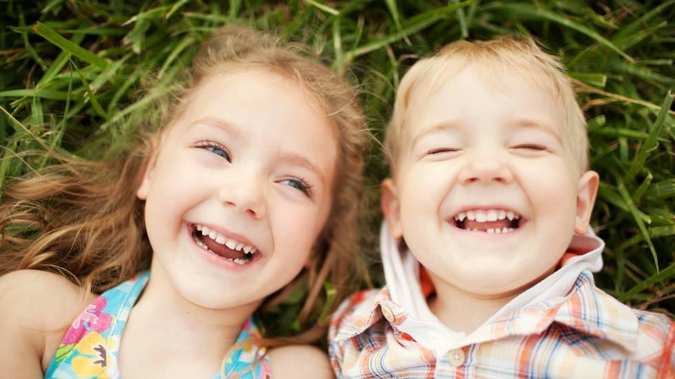 bambino, Felicità, Sorridere, Bambini maschi, Sorella