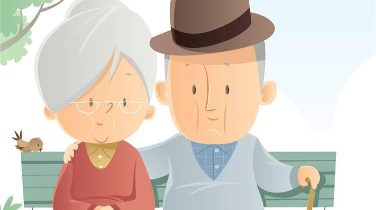 coppia senior, anziani