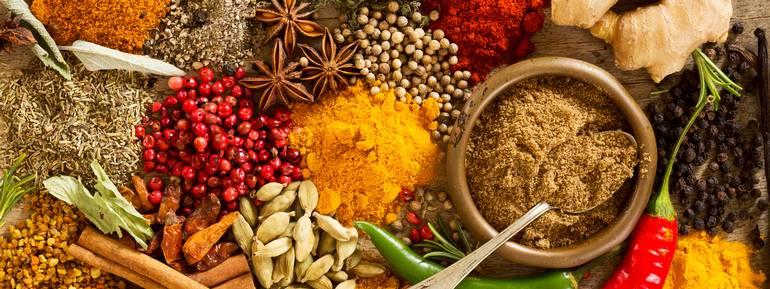 spezie, cucina, mondo, salute, utilizzo