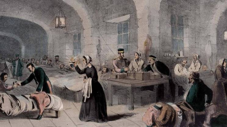 Florence Nightingale, The Lady with the Lamp