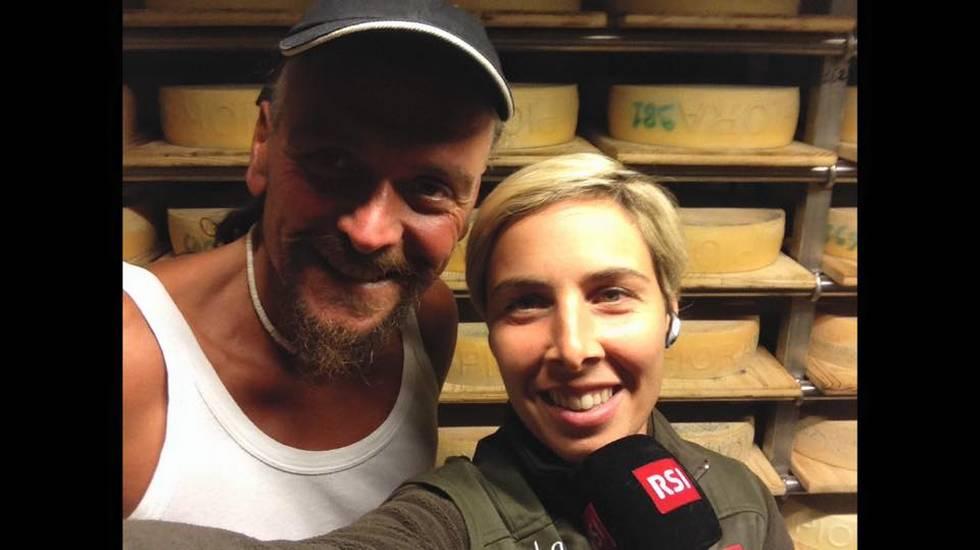 Paolo Alberti, casaro Alpe Piora 2015