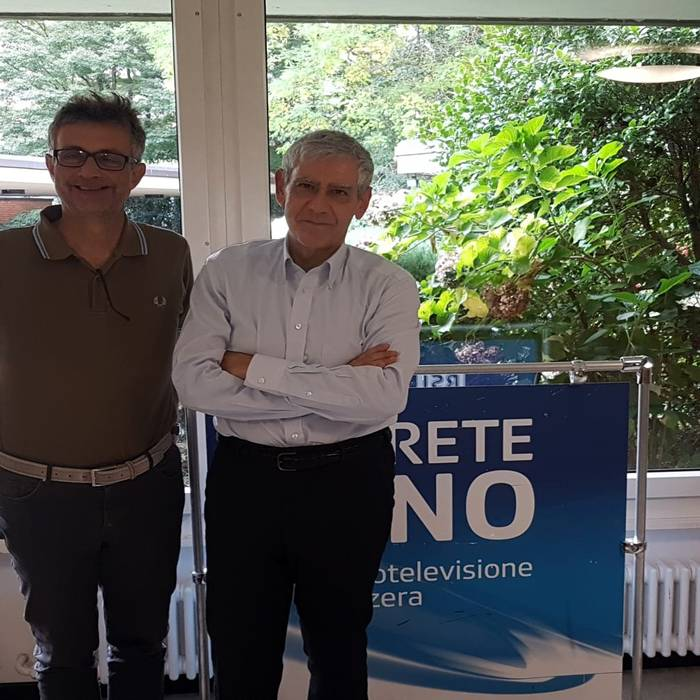 Antonio Bolzani e Giuseppe Patota, 18.10.19 - 2
