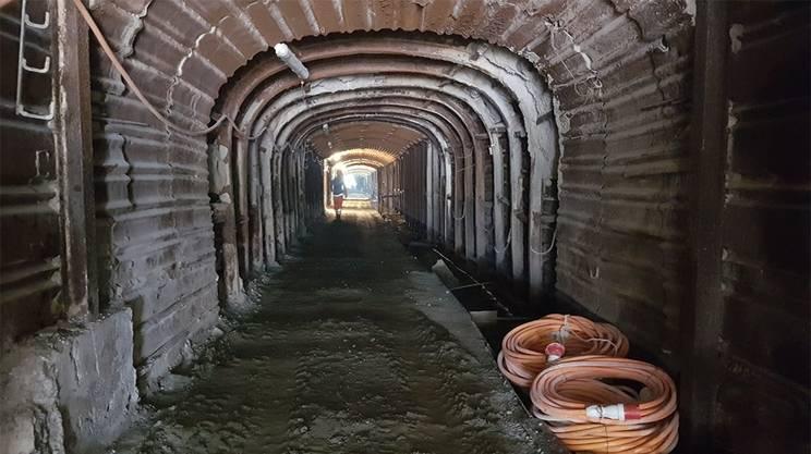 """Bedretto Underground Laboratory for Geoenergies"""" del Politecnico di Zurigo"""