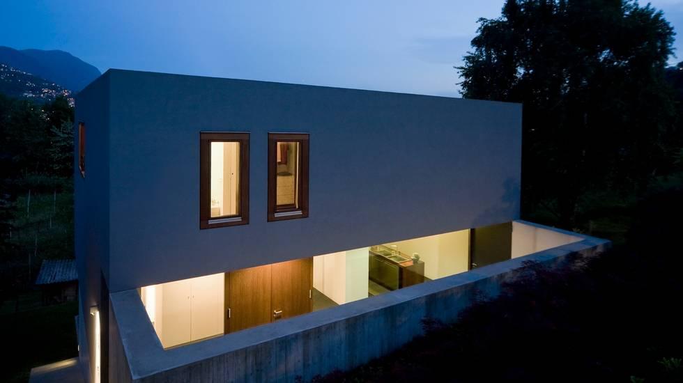 Casa moderna, Struttura edile, Architettura, Industria edile, Composizione orizzontale, Ambientazione esterna