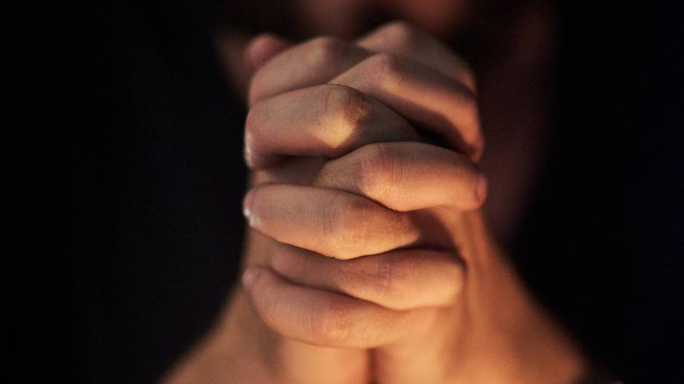 Chiesa, Luogo di preghiera, Mano umana, Copy Space, Abbigliamento casual