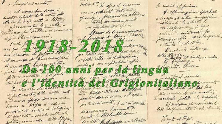 Da 100 anni per la lingua e l'identià del Grigioni italiano
