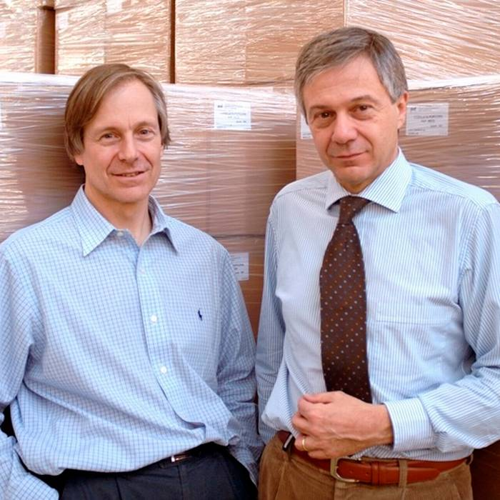 Franco, Direttore generale e Marco Roda, Direttore tecnico della Fratelli Roda SA