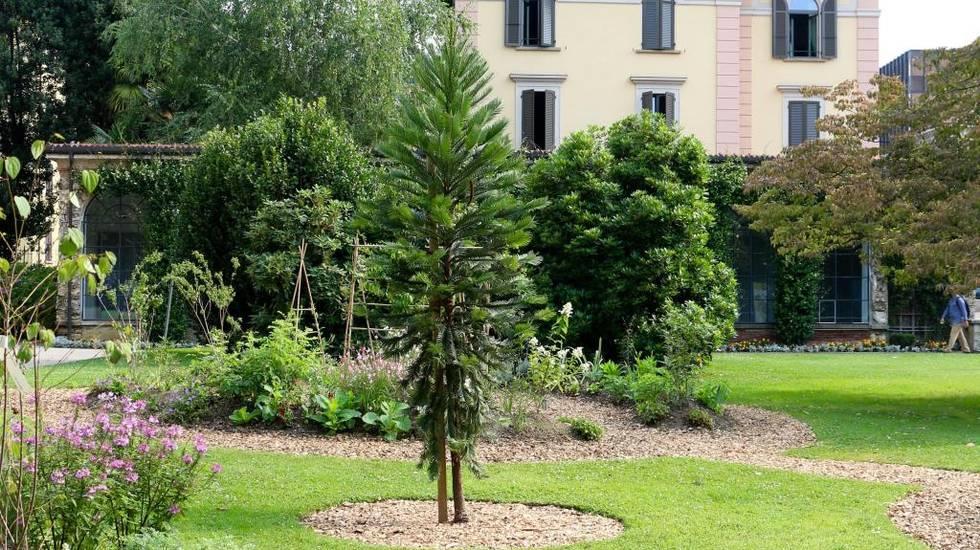 Giardino degli odori, Villa Saroli
