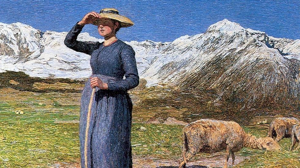 Giovanni Segantini, Mezzogiorno sulle Alpi