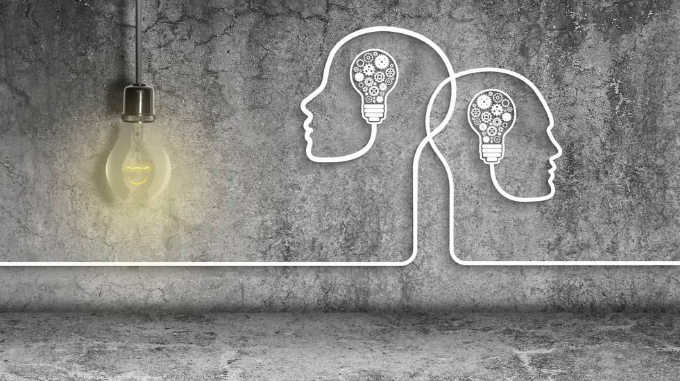 Idea in testa, soluzioni, lampadine