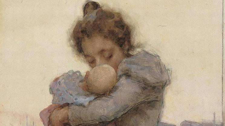 Luigi Rossi, Maternità, 1895-1898