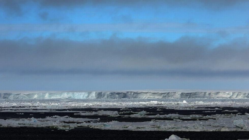 Mar Antartico, ghiacciaio
