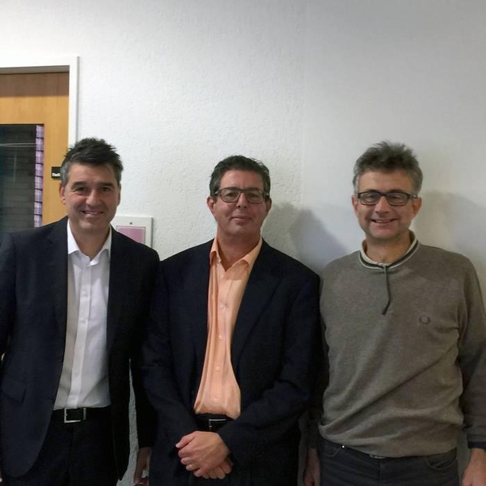 Massimo Busacca, Tarcisio Bullo e Antonio Bolzani, 2