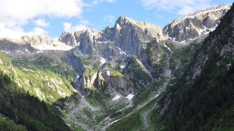 Panorama della Val Cama