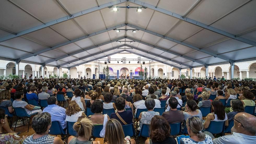 Pubblico Festival Internazionale della Letteratura in Mantova
