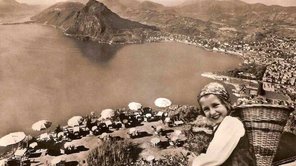 Ristorante Kuhlm, Mt. Bré con vista su Lugano