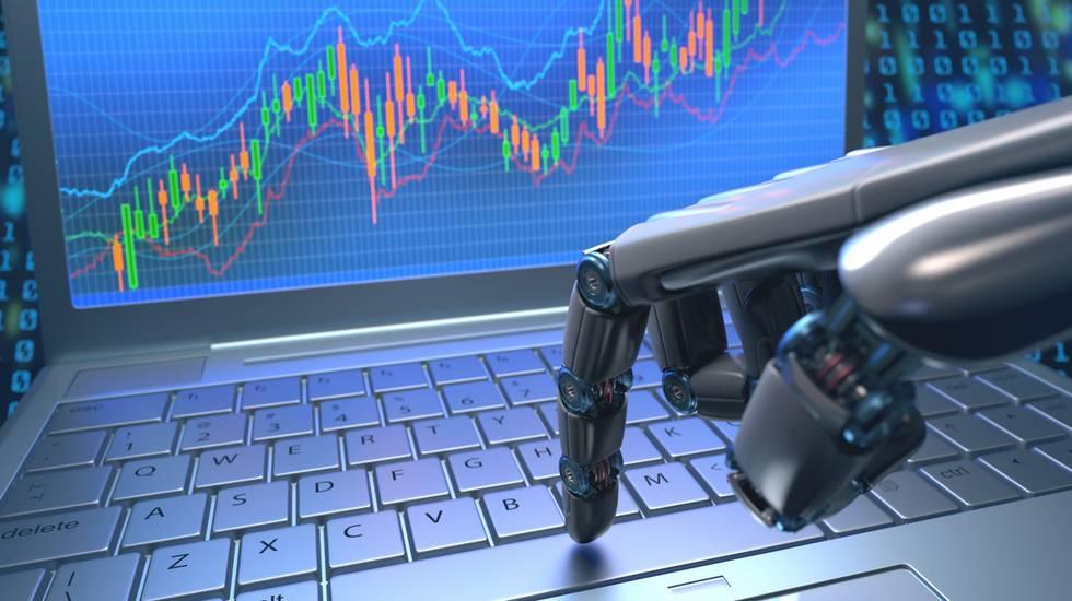 Mercato di Robot Trading, Robot, Automatizzato, Computer, Finanza, Azioni e partecipazioni, lavoro futuro, rivoluzione digitale