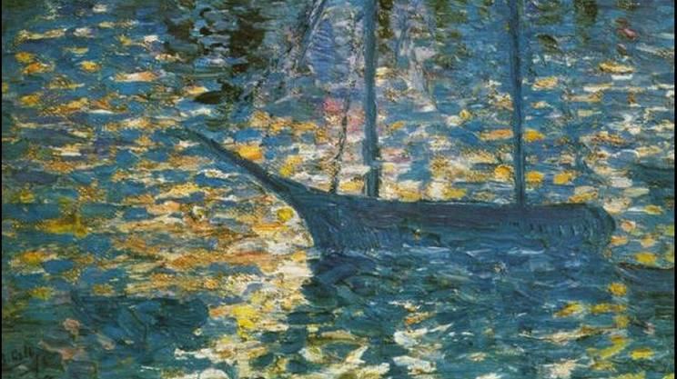 Salvador Dalì: Barca (1918)