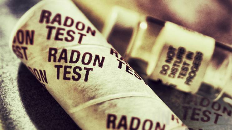 Test del radon, Sanità e medicina, Contenitore, case, abitazioni