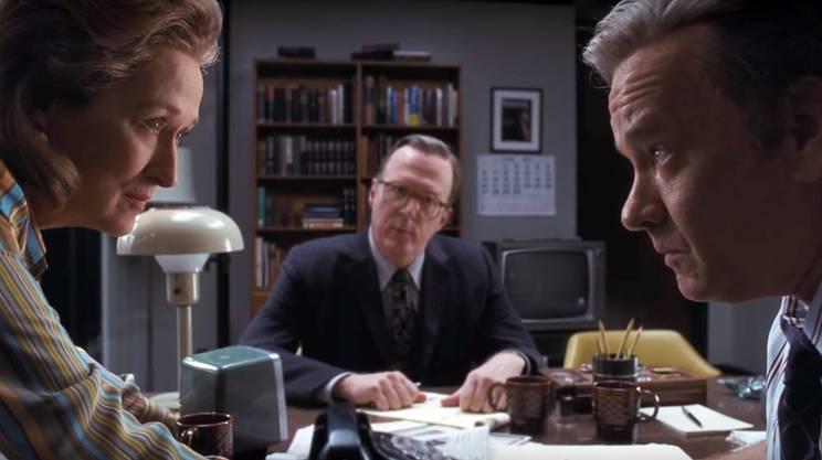 The Post di Steven Spielberg, con Tom Hanks e Meryl Streep