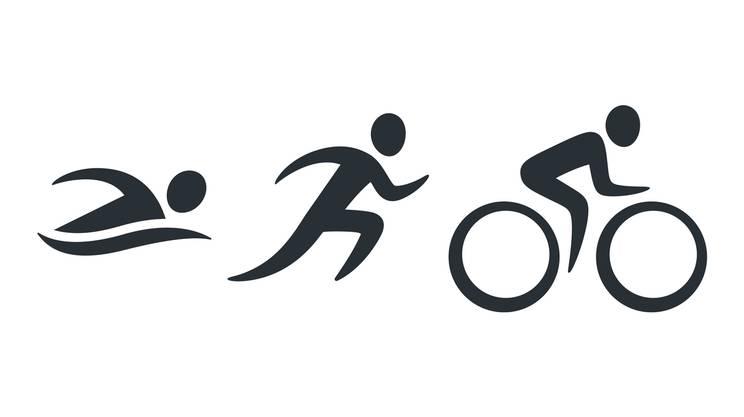Triathlon, Attività, Bicicletta, Correre, Esercizio fisico, icona