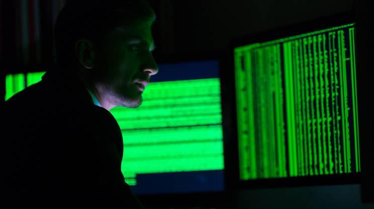 deep e dark web, monitor, computer