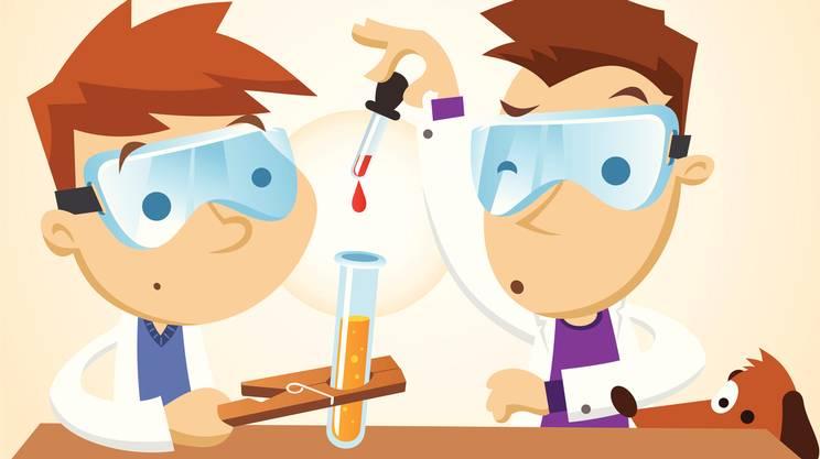 Lavorare, Bambino, Scienza, Scienziato, Chimica