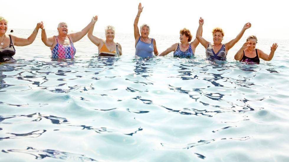 gruppi anzian, vacanze mare