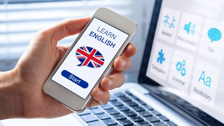 imparare inglese online, tablet, iphone, cellulare