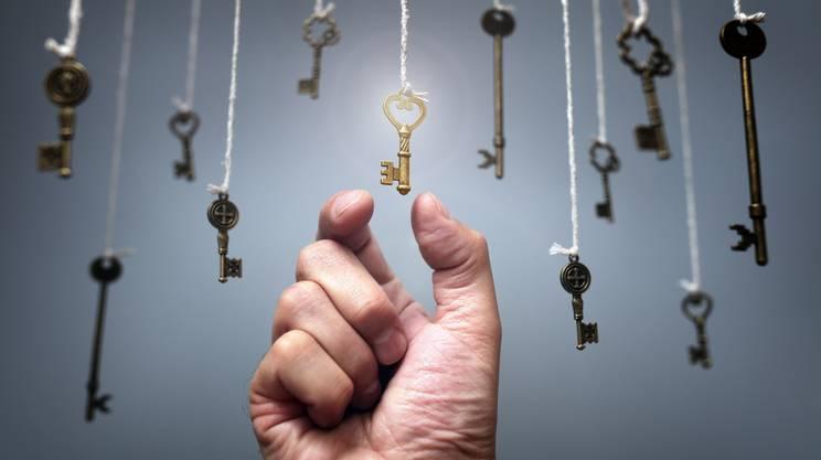 scelta, Chiave, Sistemi di sicurezza, Mano umana, Serratura, Chiave universale