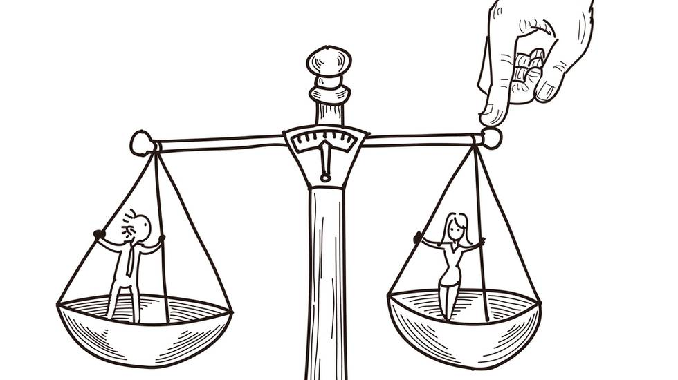 ugualianza donna-uomo, parità