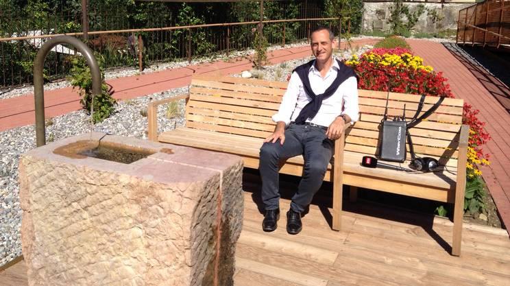 Giardino sensoriale, Balerna - Squadra esterna, 31.07.14, Enrico Sassi