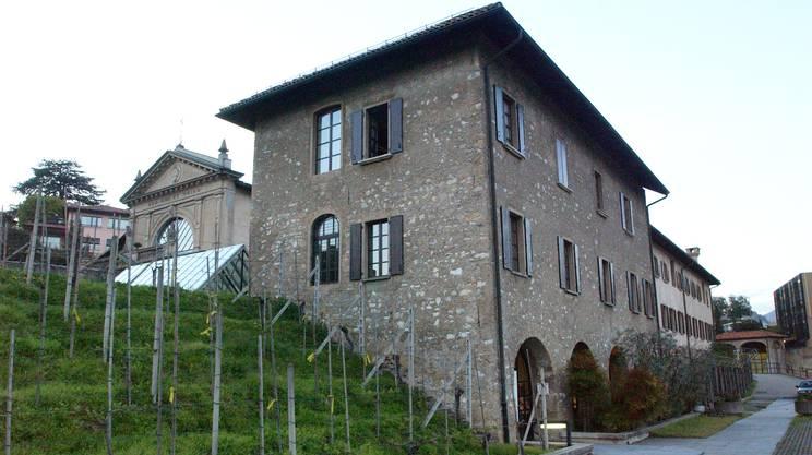 Biblioteca Salita dei Frati di Lugano (Keystone)