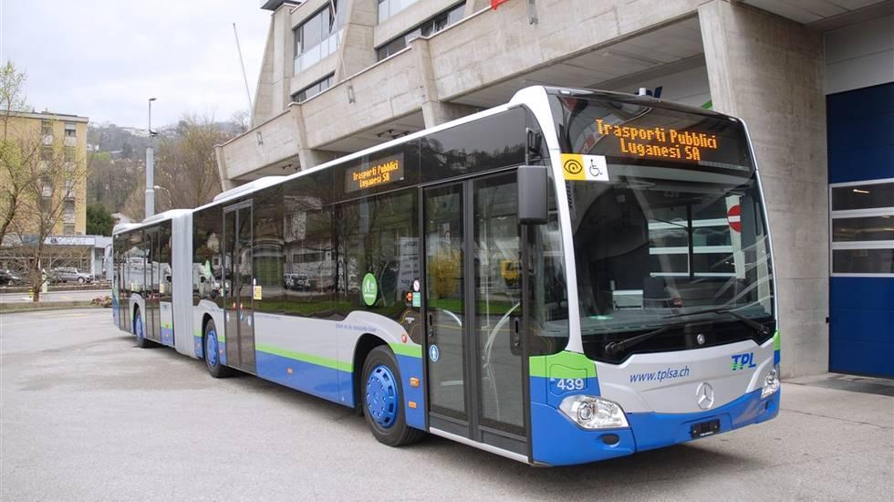 Bus TPL Trasporti Pubblici Luganesi SA