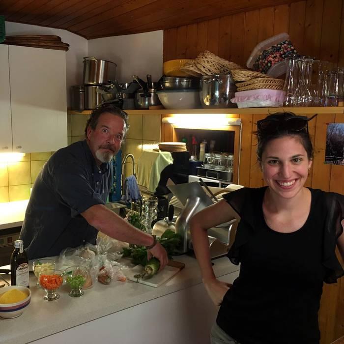 Gustando... le ricette di Gustando!, Squadra esterna 07.06.17 - 4, Christian Frapolli, Tea Velti