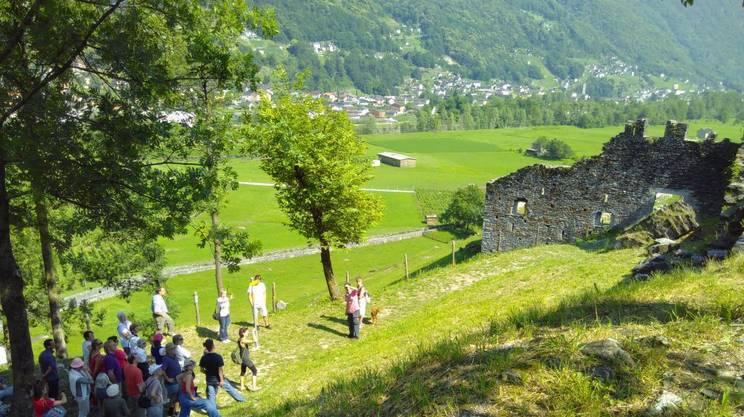 Giornate europee del patrimonio, Castello di Serravalle