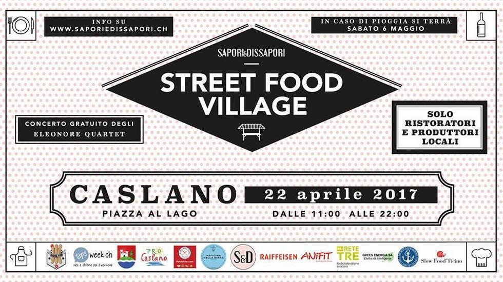 I Sapori&Dissapori, Streetfood Village Caslano
