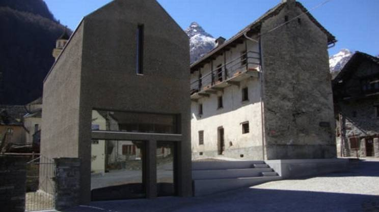 Museo Verzasca, nuova ala