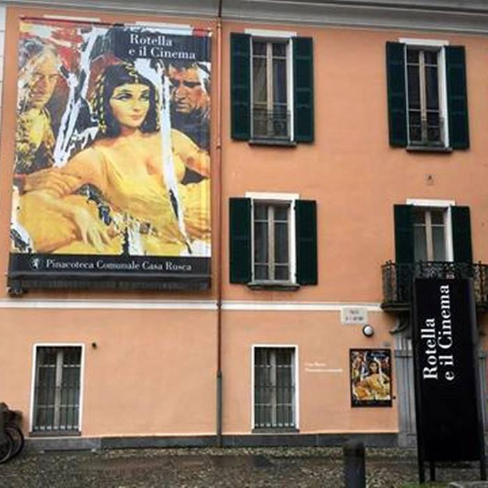 Rotella e il Cinema6, Pinacoteca comunale Casa Rusca di Locarno, Squadra esterna 11.05.16