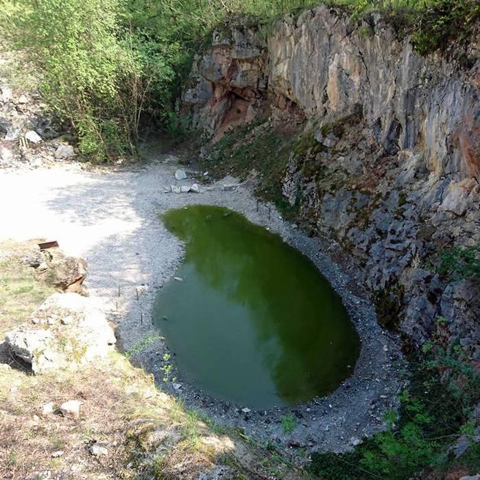 Sul cantiere dell'anfiteatro delle cave di Arzo, Squadra esterna 10.04.17 - 3