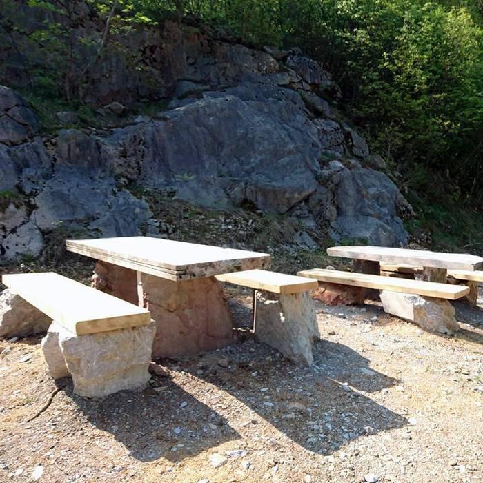 Sul cantiere dell'anfiteatro delle cave di Arzo, Squadra esterna 10.04.17 - 2