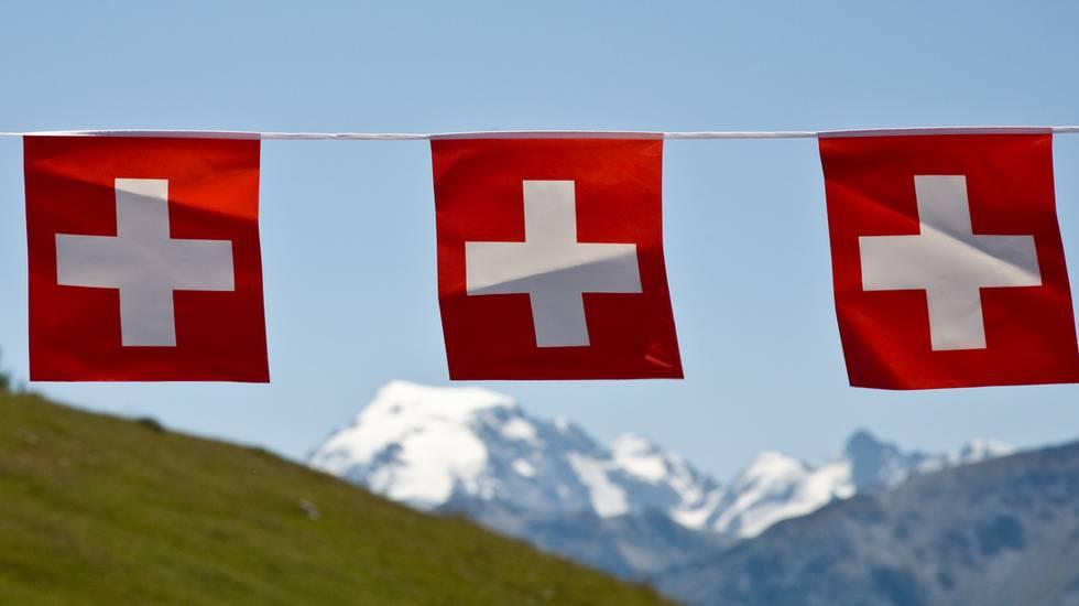 Swissness, bandierine Svizzere, 1. Agosto
