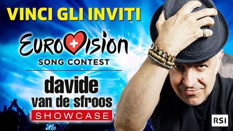 Eurovision e Showcase con Van De Sfroos