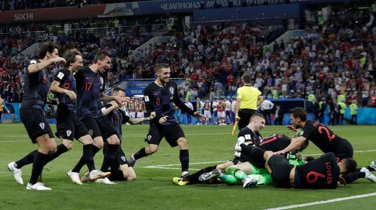 La Russia e la Svezia si congedano, vanno avanti la Croazia e l'Inghilterra