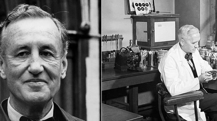 Ian Fleming e Alexander Fleming
