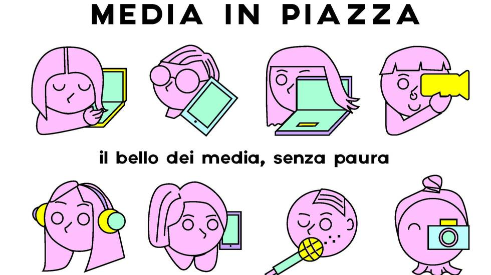 Media in piazza