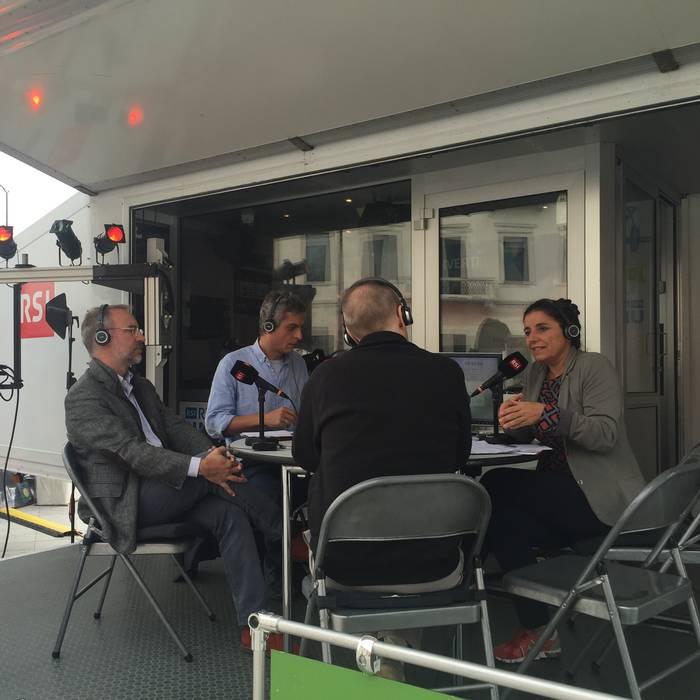 Media in piazza, Lugano 24.09.16