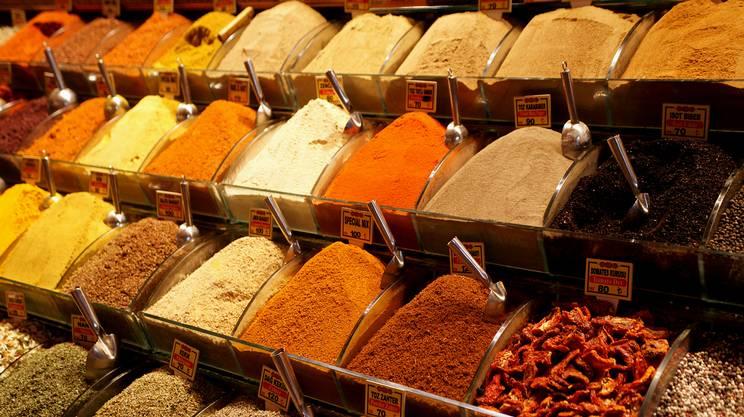 Mercato di spezie Turchia