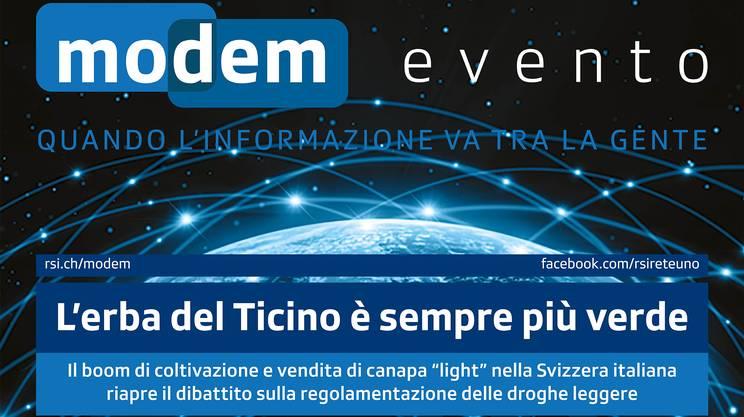 Modem Evento: L'erba del Ticino è sempre più verde
