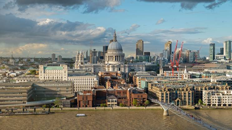 St.Paul's Cathedral in London